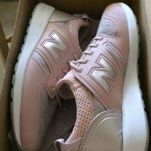 Pink New balance lifestyle shoes